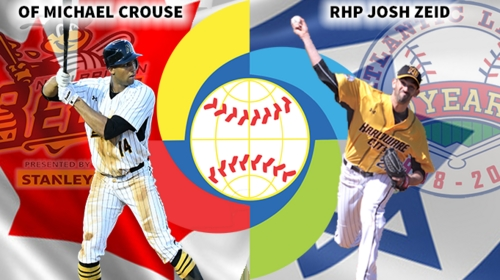 2a7ca457e CROUSE, ZEID TO REPRESENT BEES IN 2017 WORLD BASEBALL CLASSIC